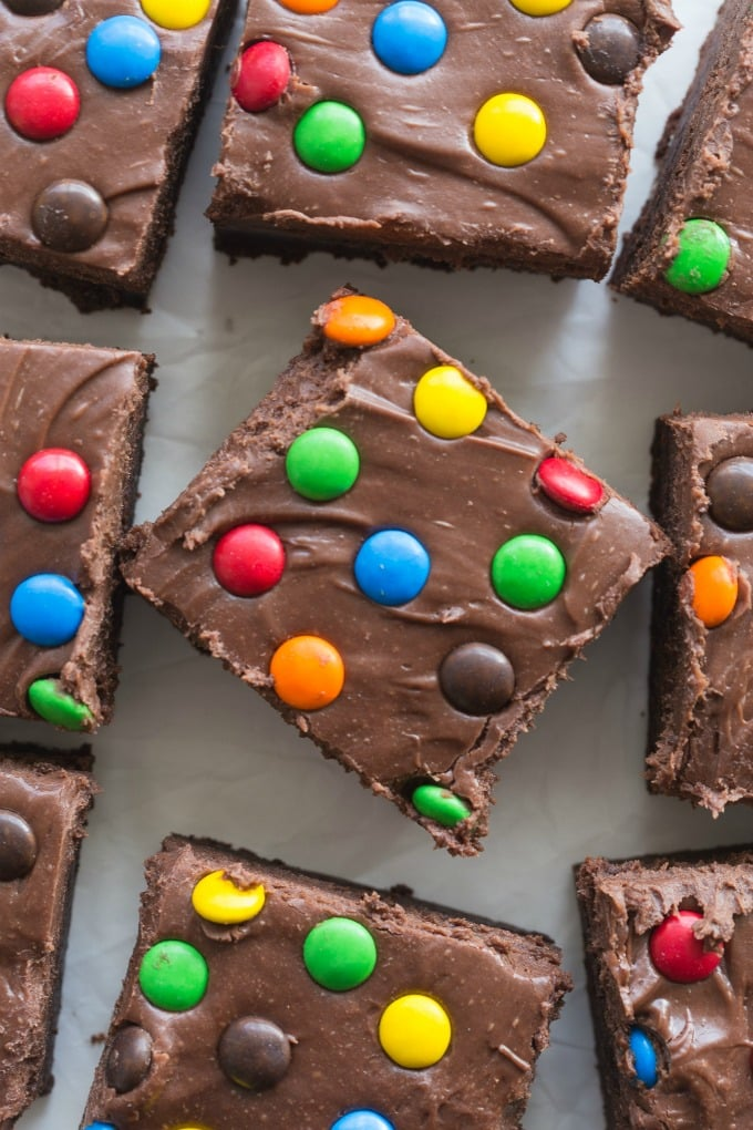 Healthy Copycat Little Debbie Cosmic Brownies Recipe made healthy!