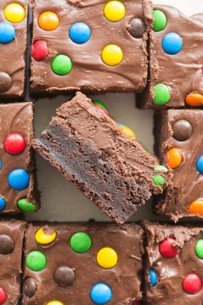 Easy and homemade Copycat Cosmic Brownies Recipe- Vegan, Keto, Paleo