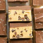 Keto Vegan No Bake Cookie Dough Bars Recipe