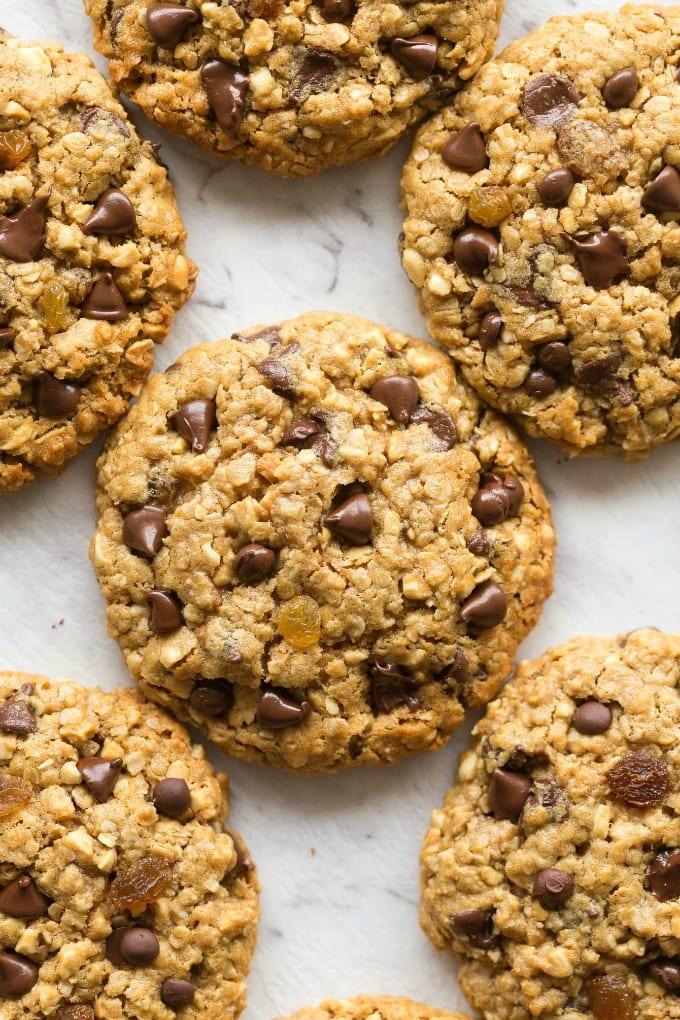No Oats Oatmeal Raisin Cookies Recipe