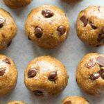 Easy No Bake Healthy Almond butter Energy Balls recipe