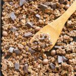 Easy homemade healthy chocolate granola recipe