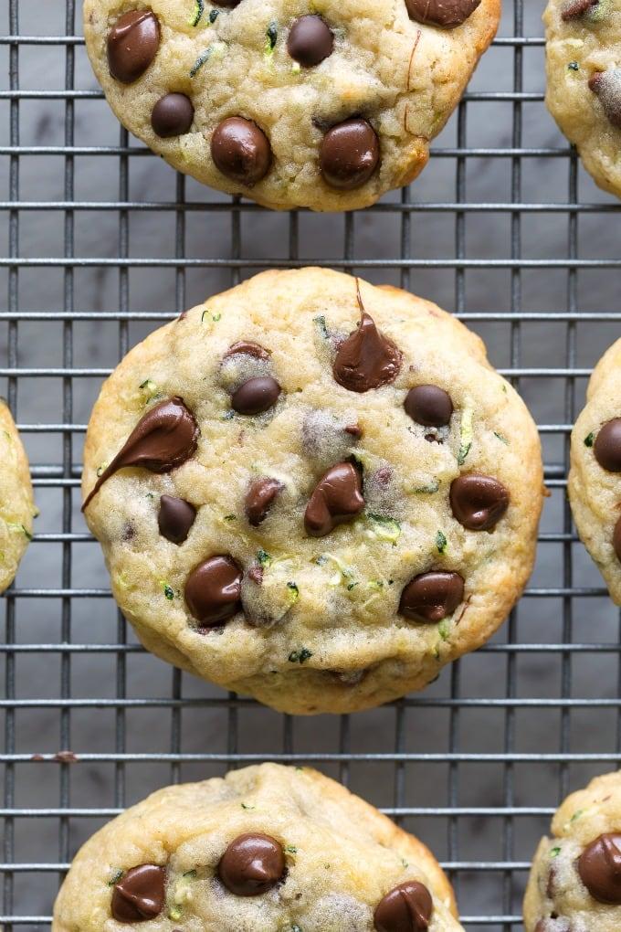 Keto Chocolate Chip Zucchini Cookies Recipe