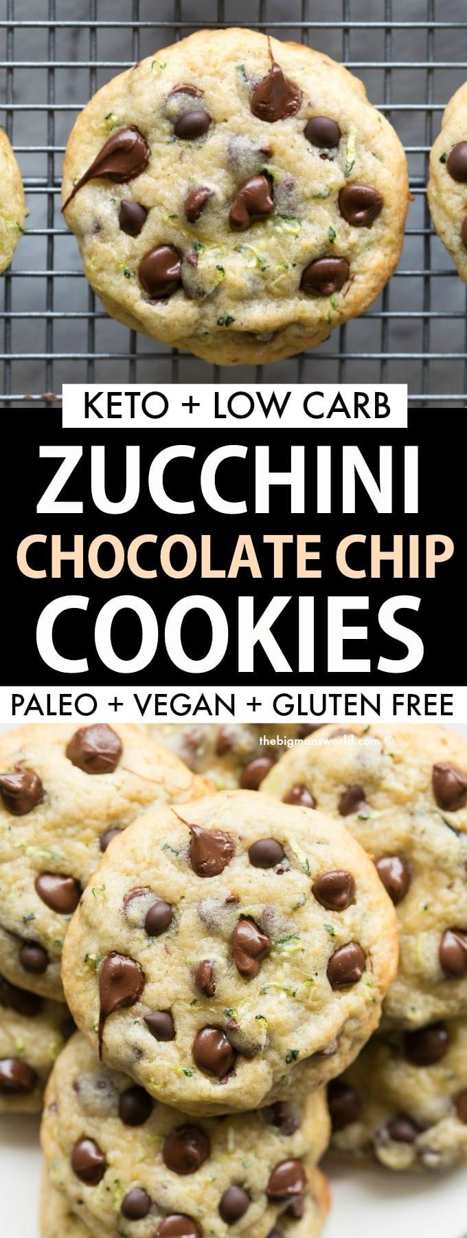 Chocolate Chip Zucchini Cookies Recipe