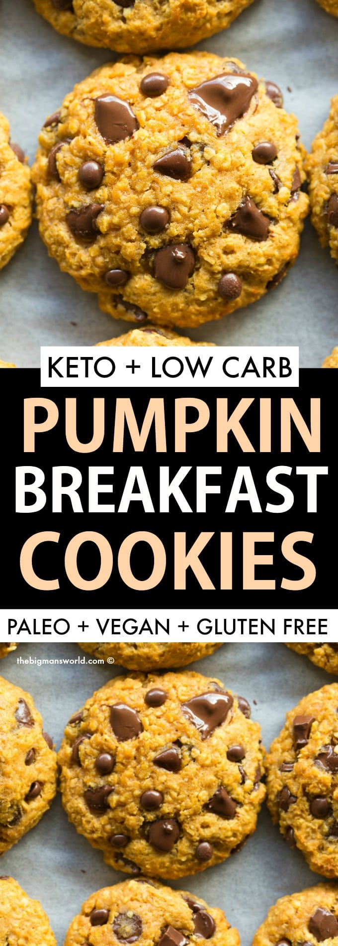 Paleo Pumpkin Breakfast Cookies Recipe