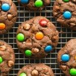 keto vegan double chocolate keto cookies recipe