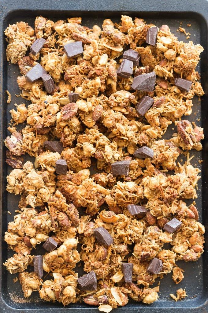 Easy keto granola recipe