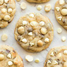 Sugar free white chocolate and macadamia nut cookie recipe