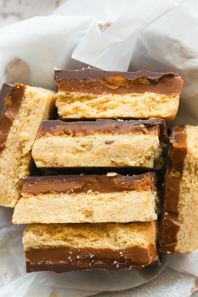 Vegan English Toffee Bars Recipe