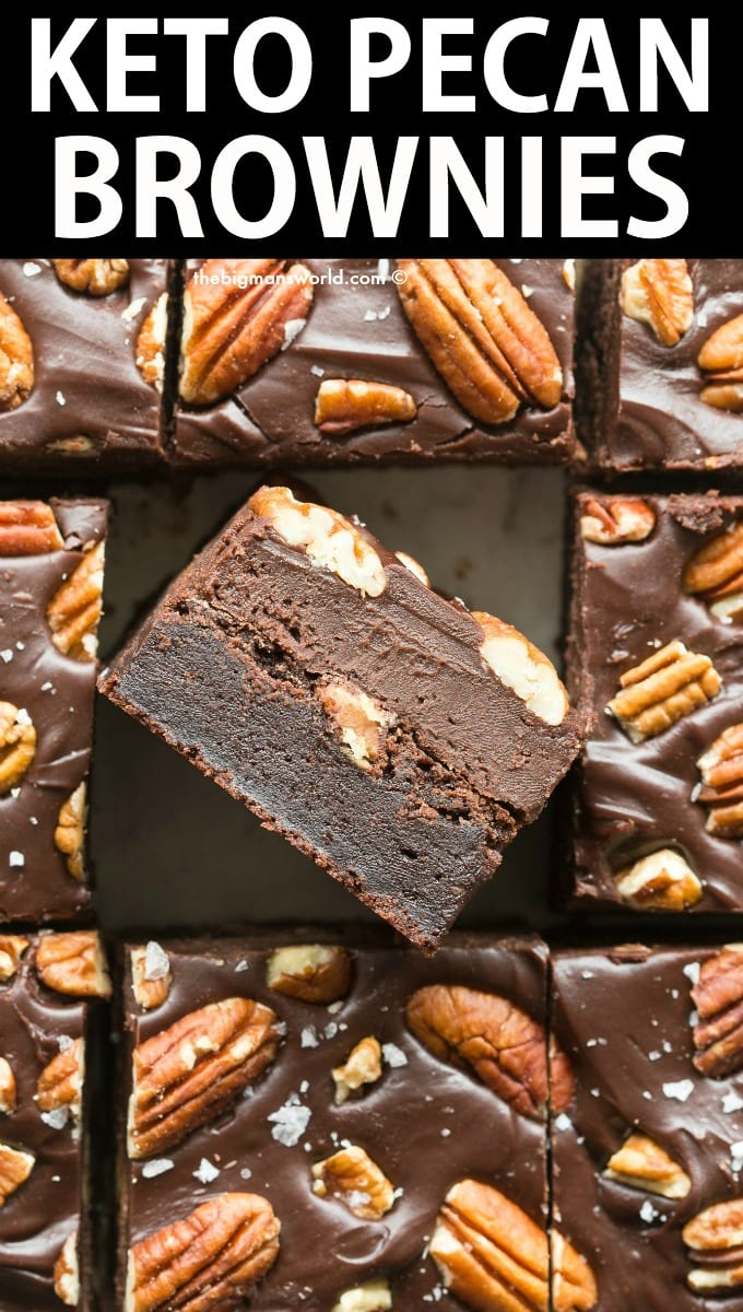 Double Chocolate Pecan Brownies Recipe