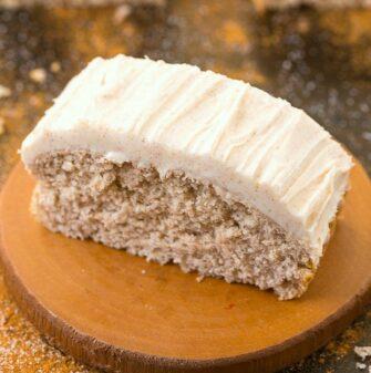 keto sugar free cinnamon cake