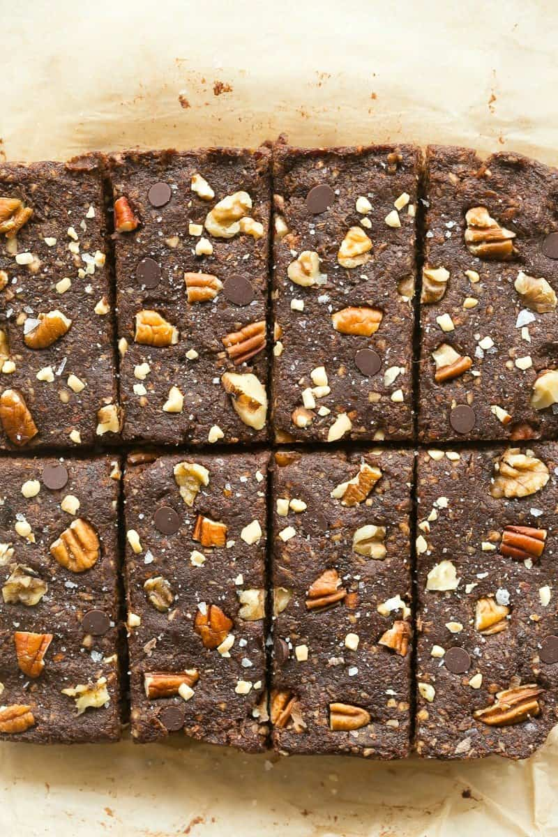 whole30 paleo and vegan brownies