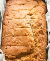 Best ever vegan banana bread