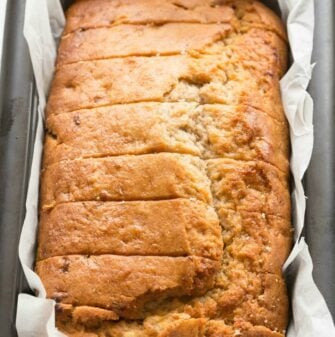 Best ever vegan banana bread