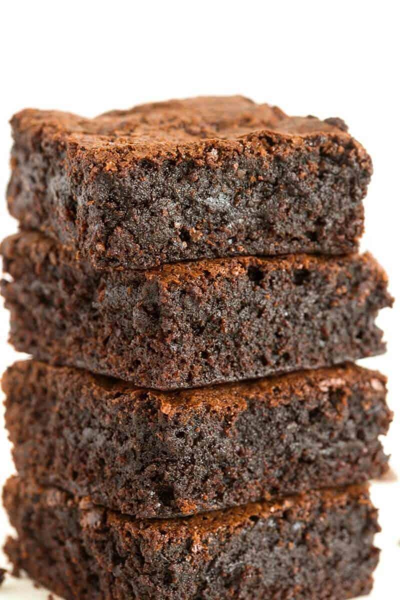 rich vegan brownies