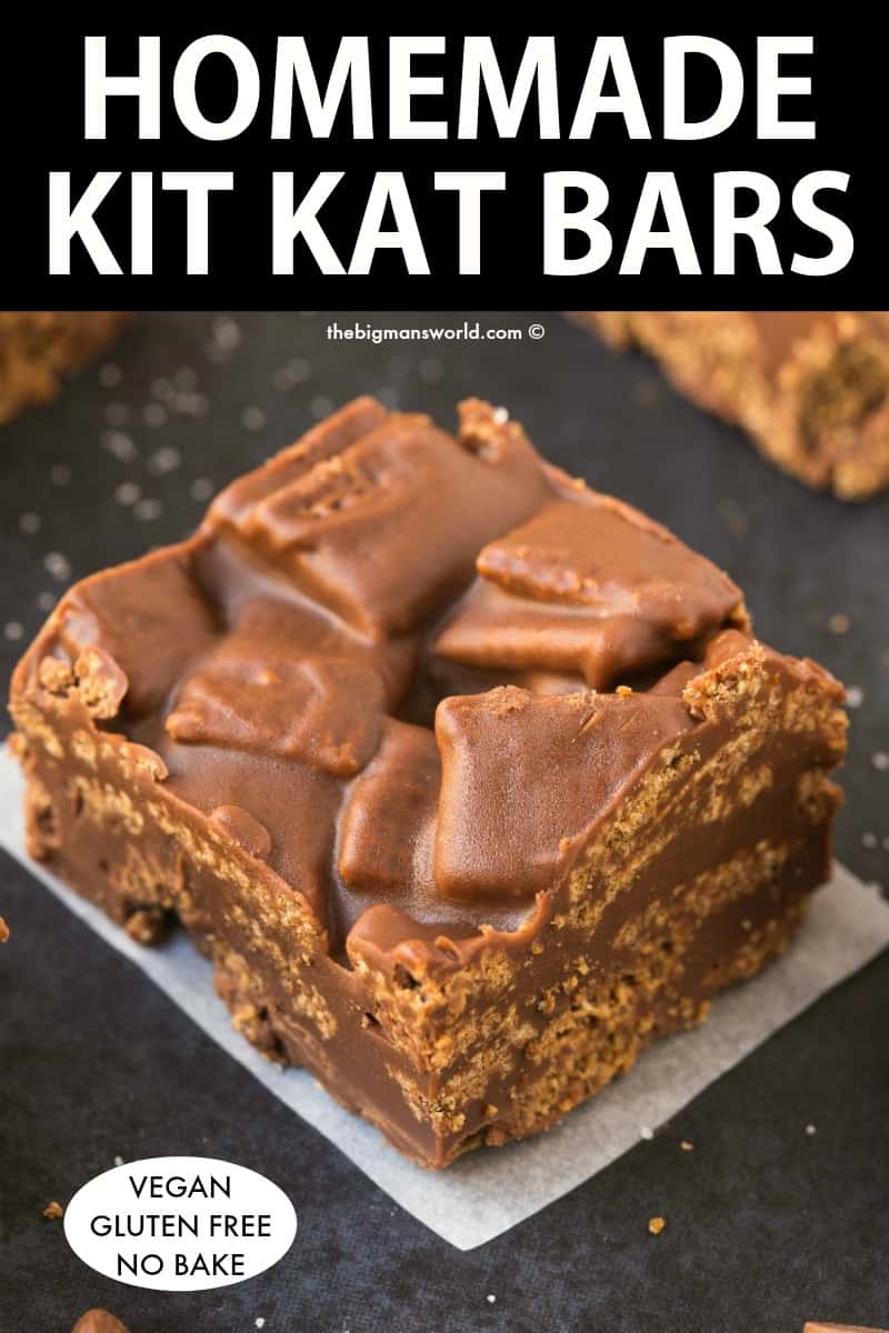 Homemade Kit Kat Just 5 Ingredients The Big Man S World