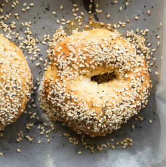 two ingredient bagels