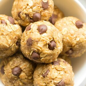 5 minute no bake protein balls