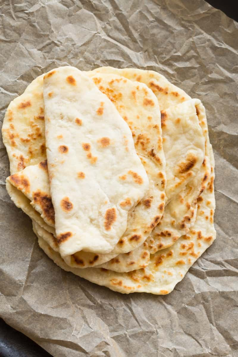 two ingredient dough flatbreads
