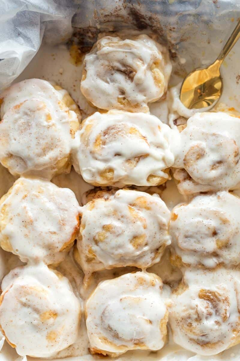cinnamon rolls without yeast