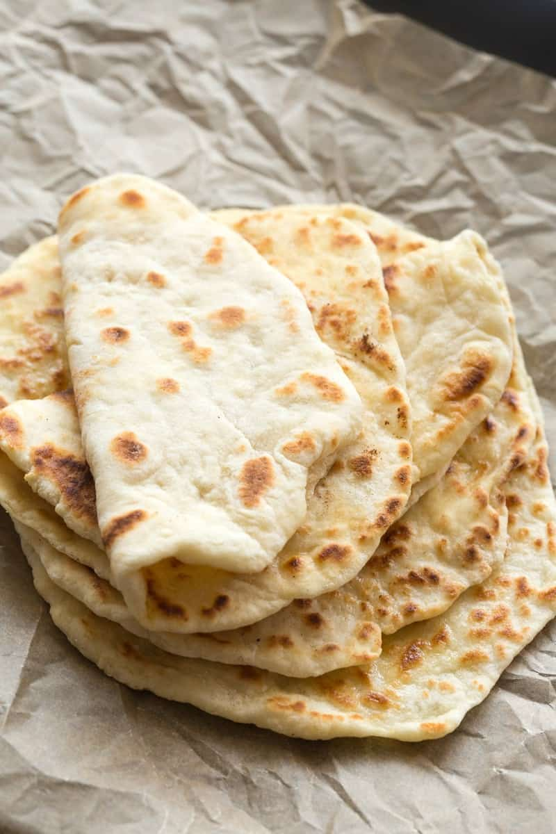 2 ingredient flatbreads