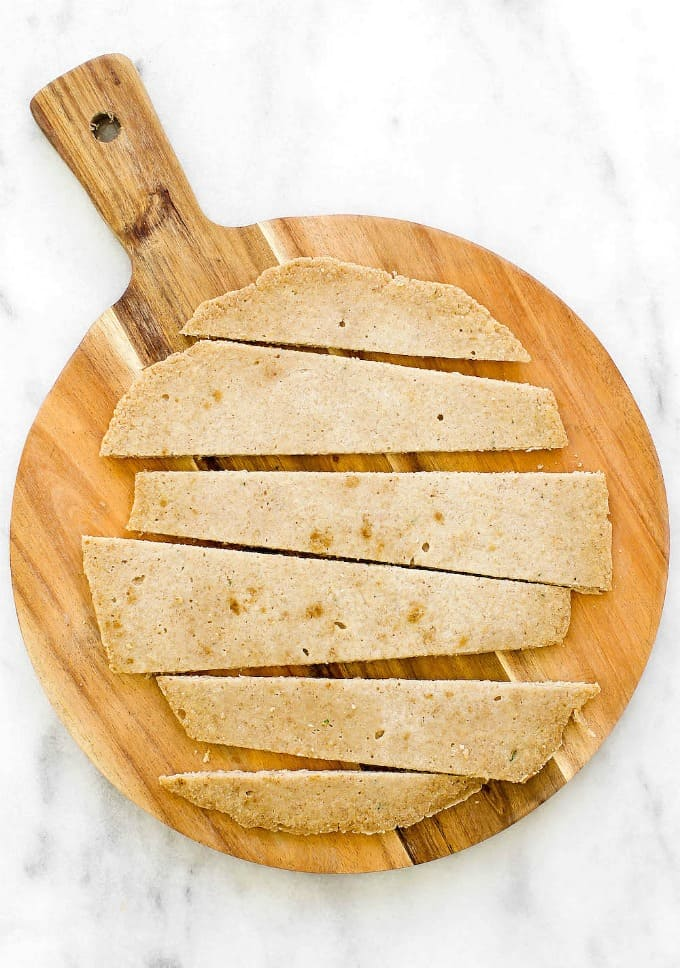 oat flour flatbread