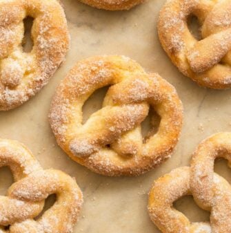 weight watcher cinnamon sugar soft pretzels