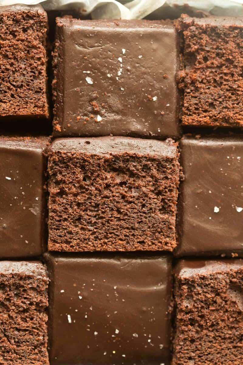 vegan crazy chocolate cake