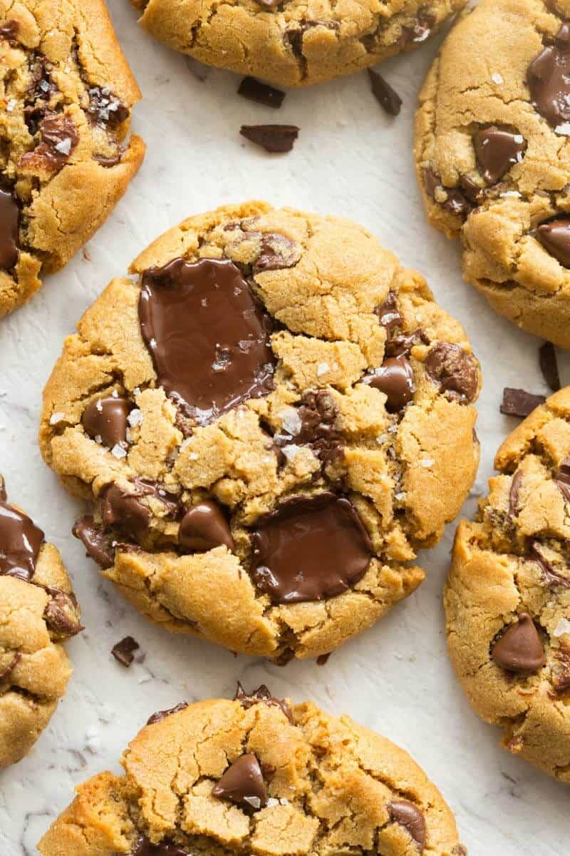 no flour chocolate peanut butter cookies