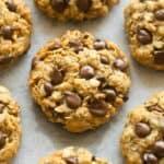 no flour oatmeal peanut butter cookies