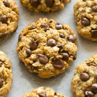 no flour oatmeal peanut butter cookies