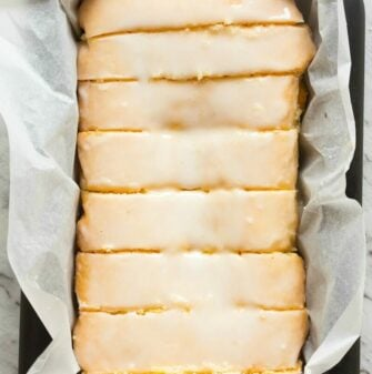 dairy free lemon bread