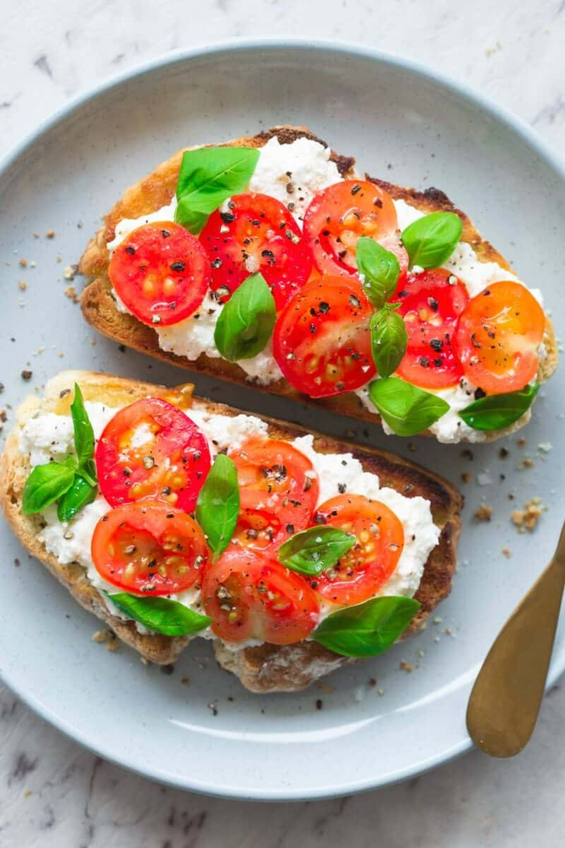 vegan soda bread toast