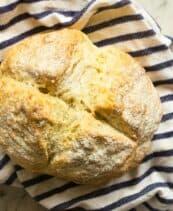 no yeast emergency bread