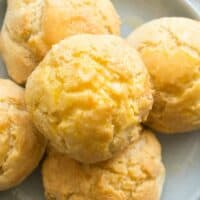 fluffy vegan biscuits