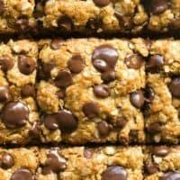 healthy oatmeal cookie bars