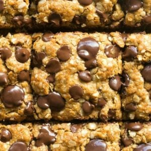 healthy oatmeal cookie bars