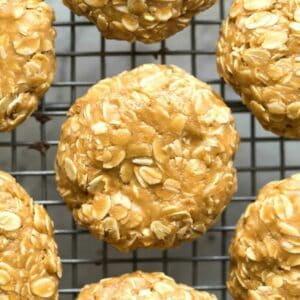 easy peanut butter no bake cookies