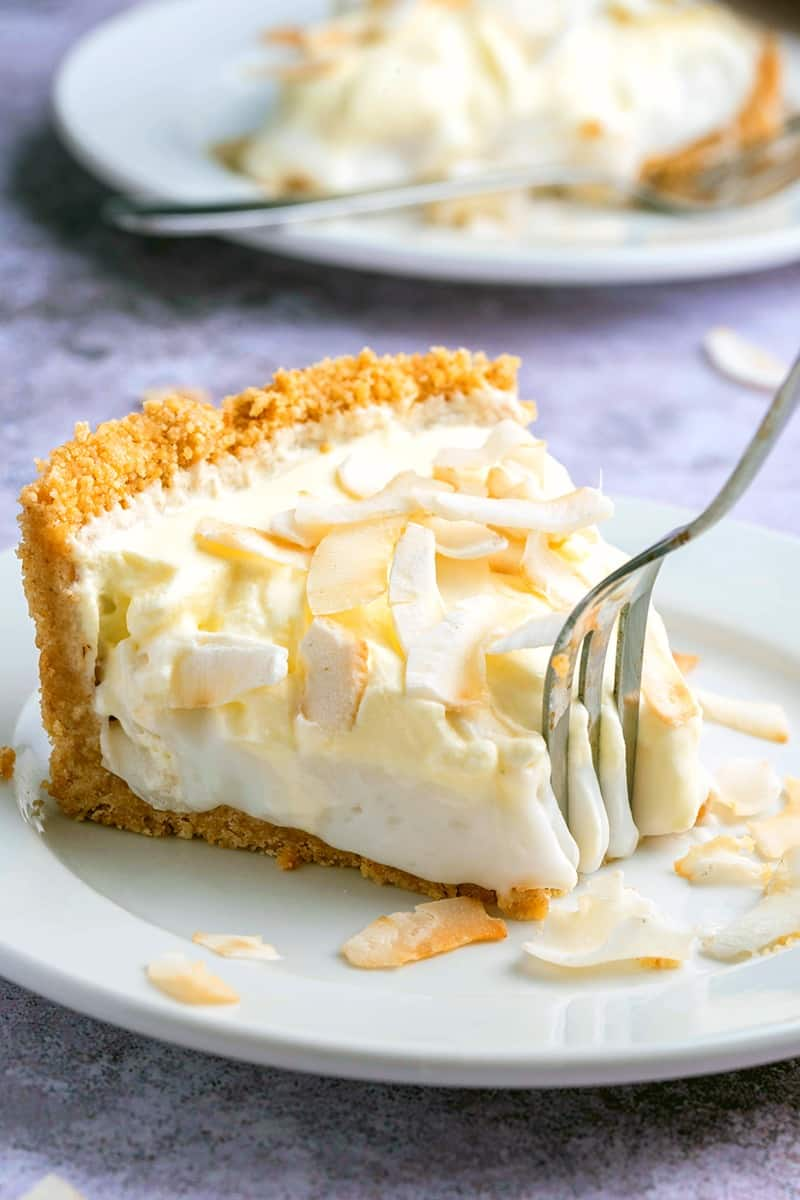 dairy free coconut cream pie