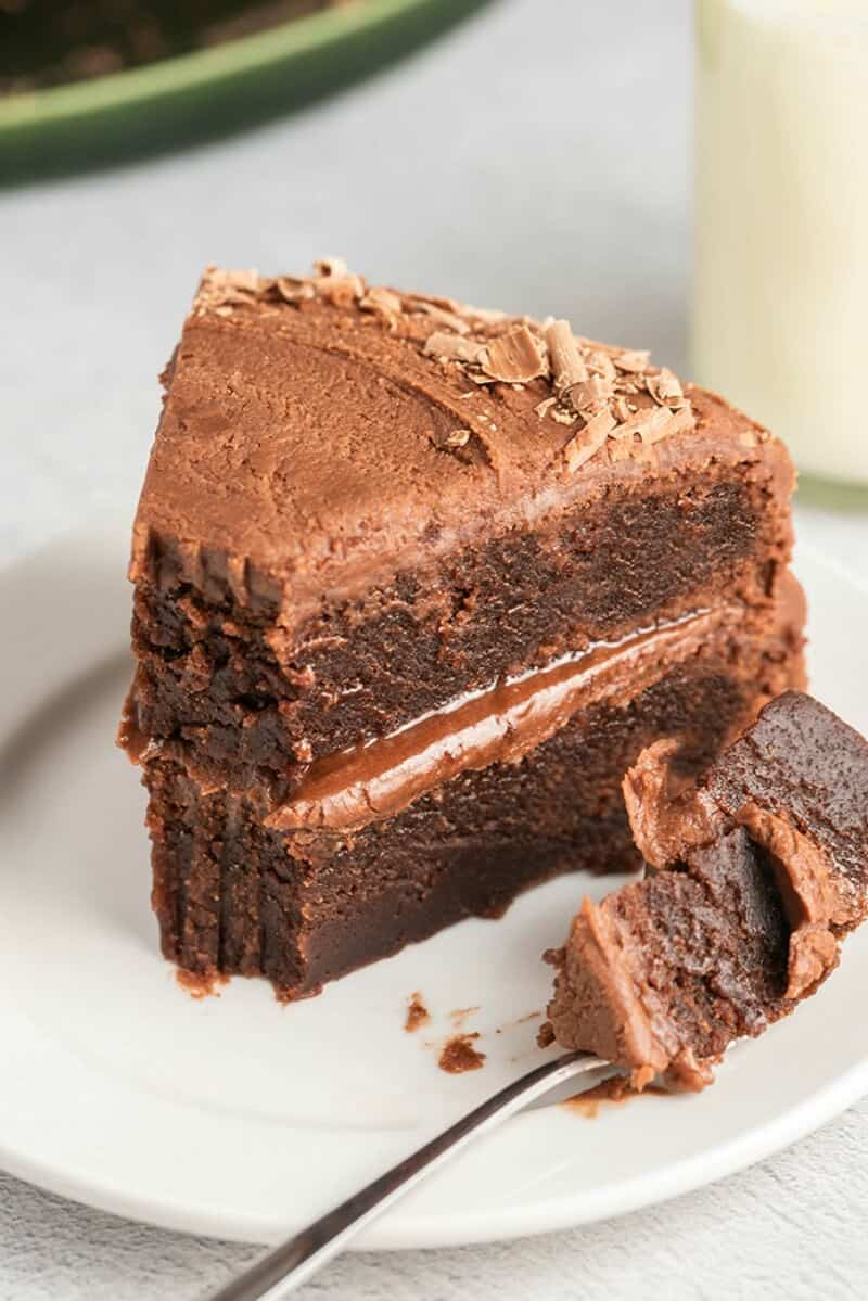 flourless chocolate cake keto
