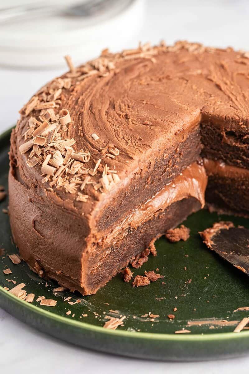low carb flourless chocolate cake