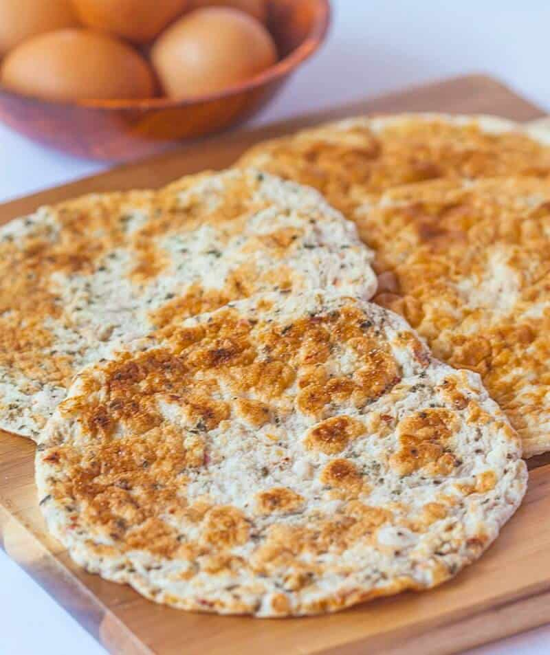 low carb flatbread