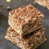 chocolate no bake bars