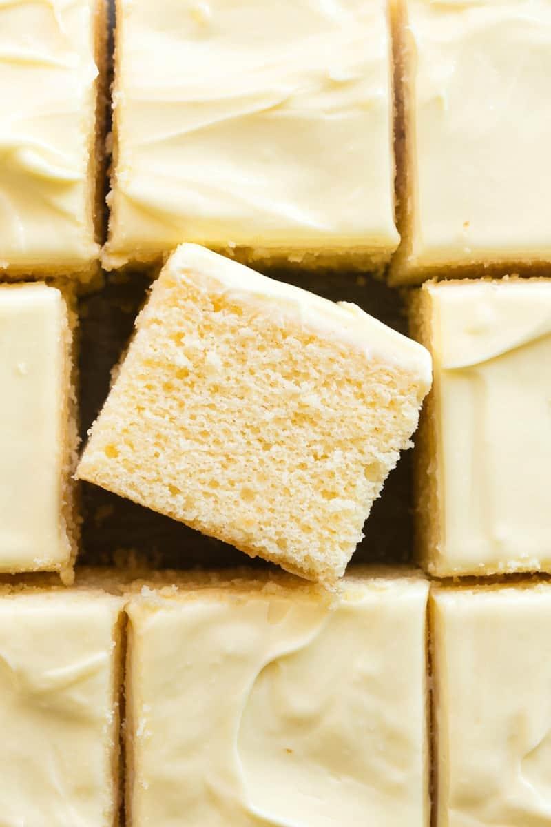 vegan lemon cake recipe