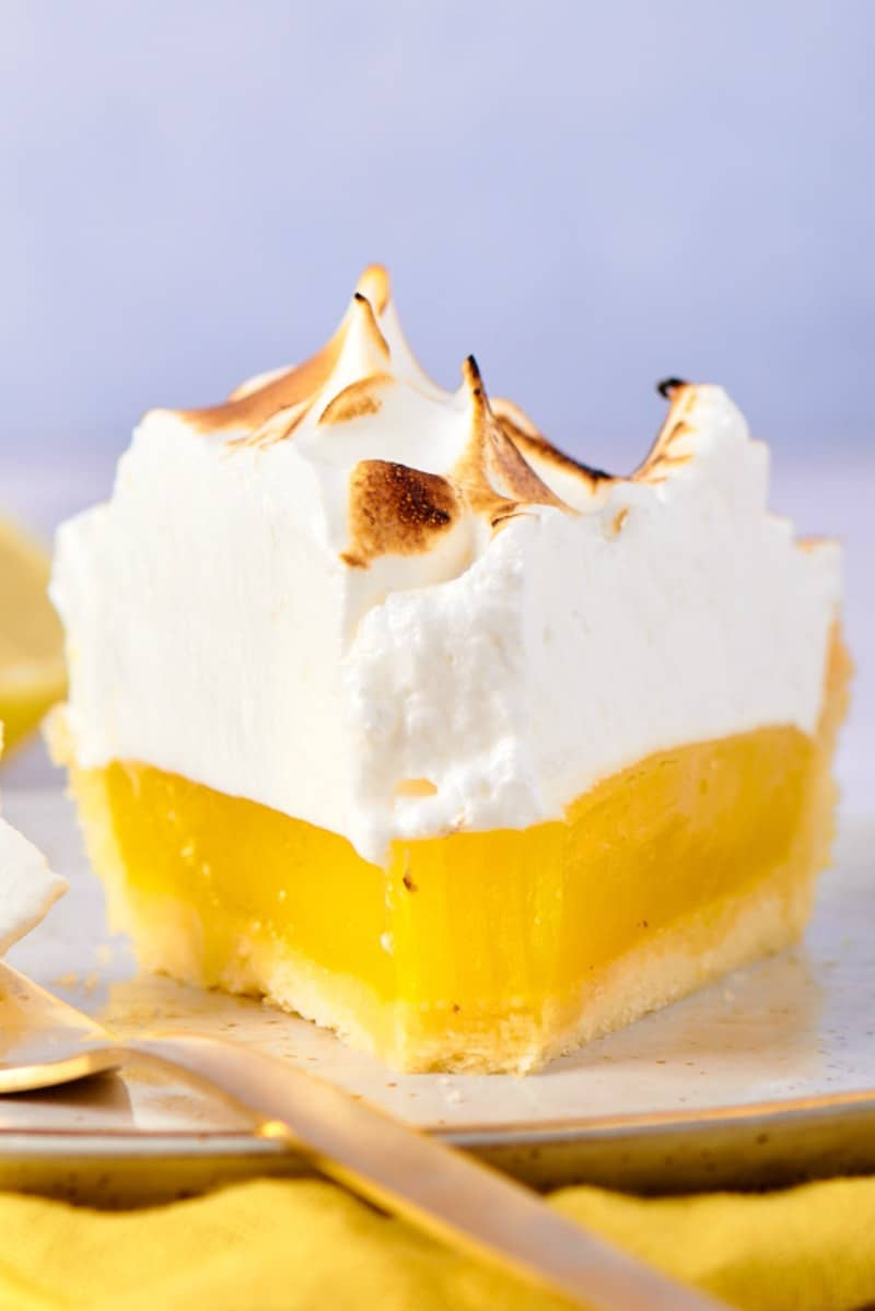 vegan lemon meringue pie