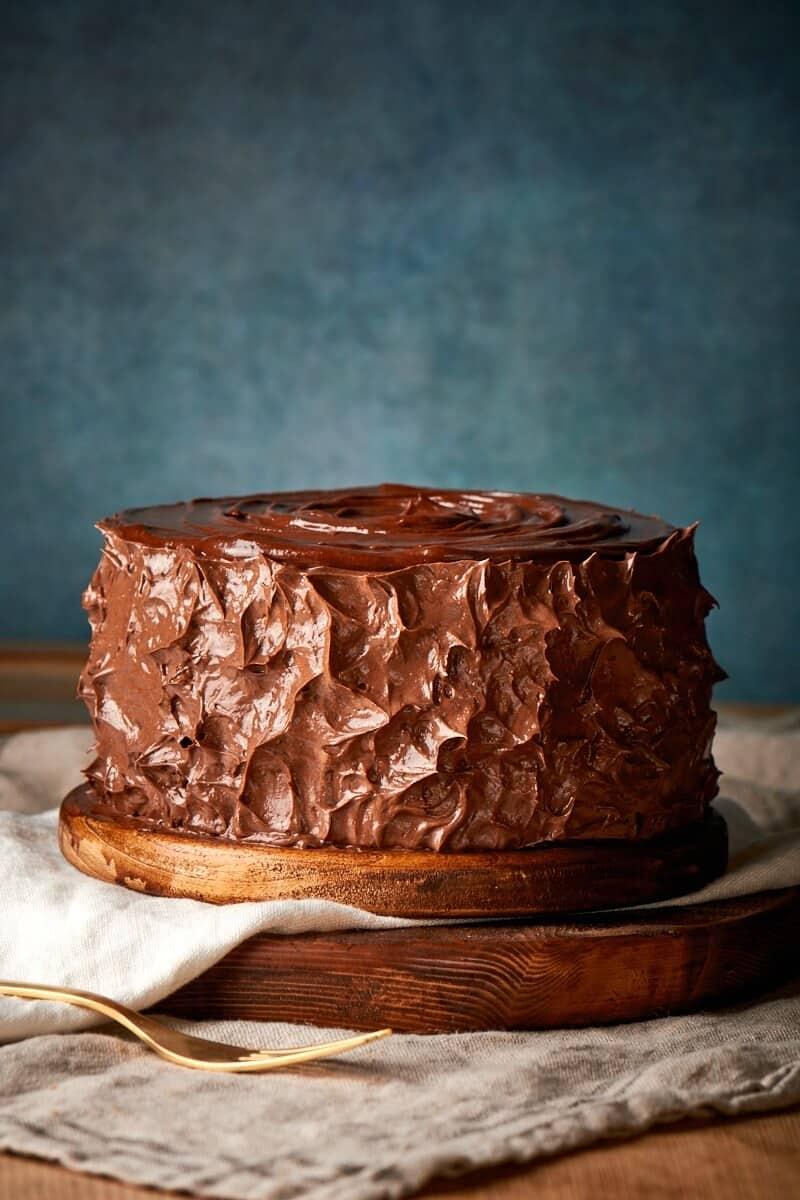 keto chocolate zucchini cake