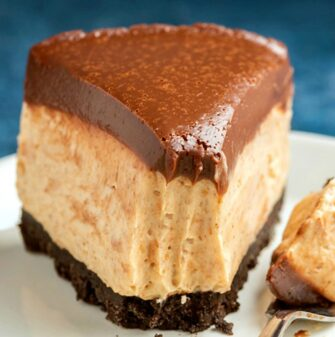 keto chocolate peanut butter cheesecake