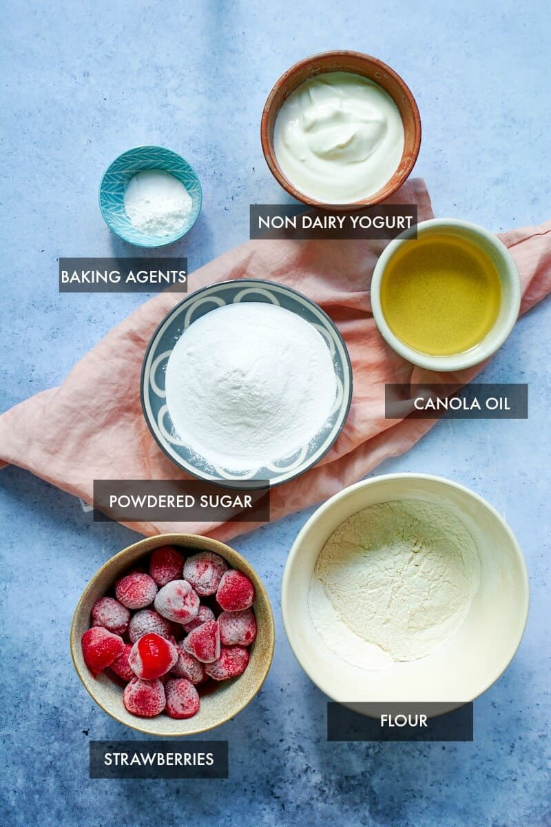 strawberry cake ingredients