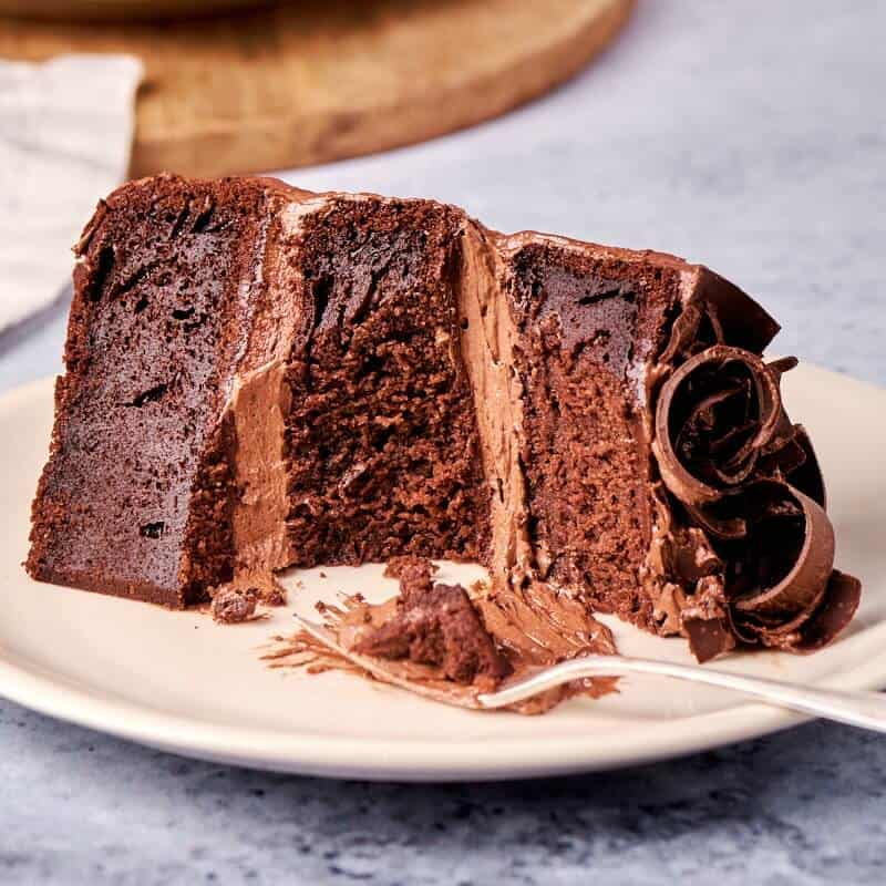 Healthy Chocolate Cake (Fat Free AND Sugar free!)