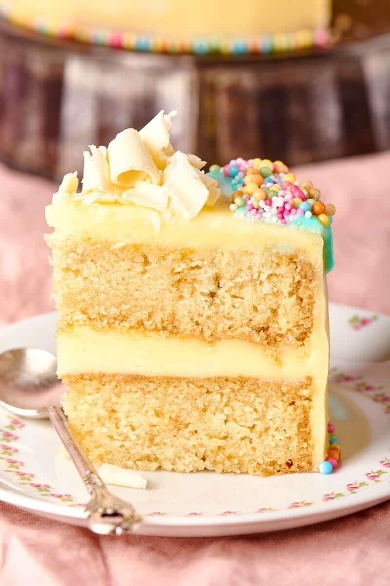 vegan confetti cake
